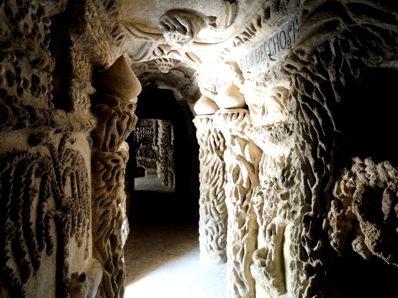 коридоры дворца почтальона