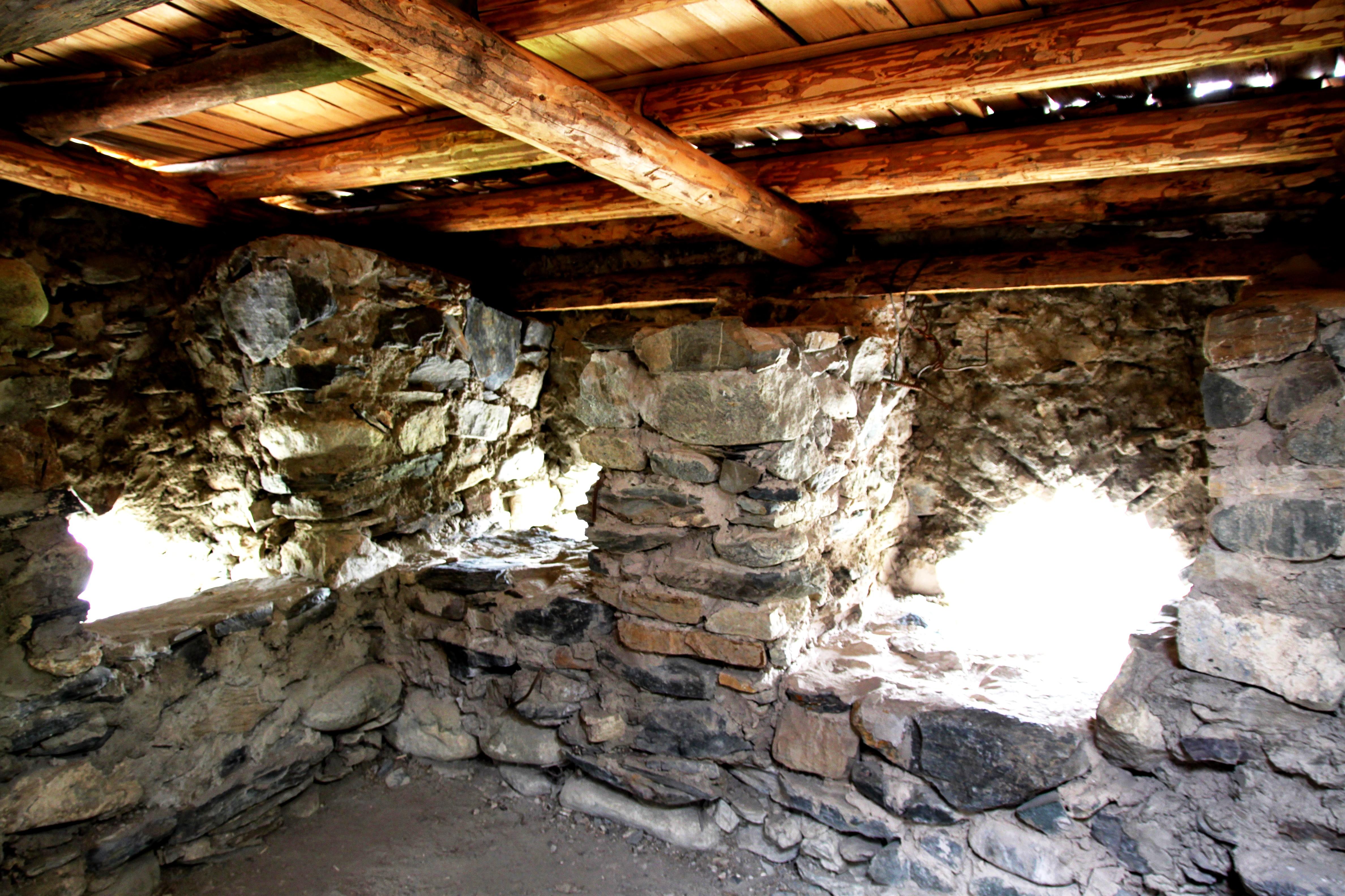 сванская башня изнутри