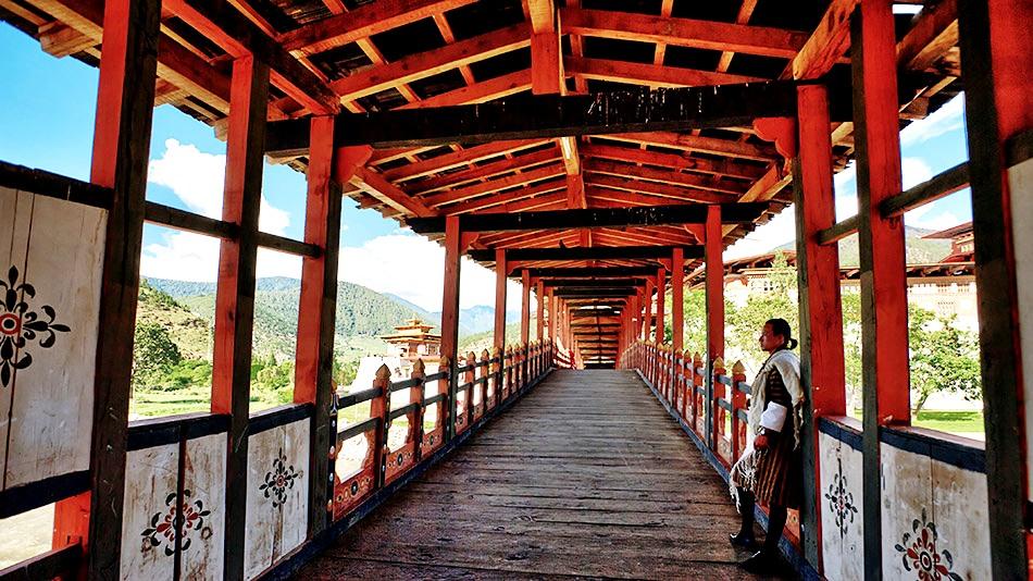 переход пунакха дзонг