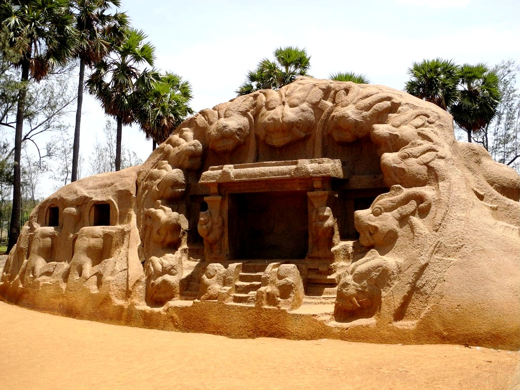 пещера махабалипурама