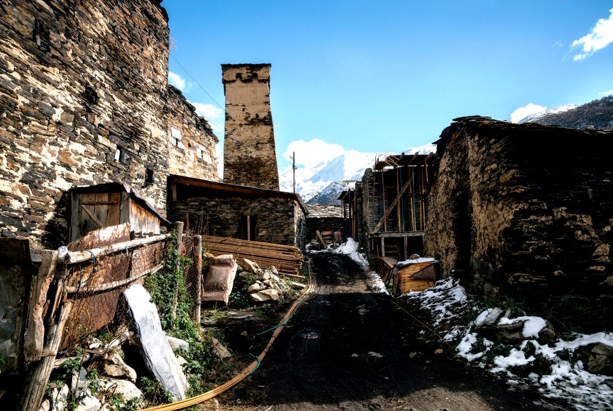 село в сванетии