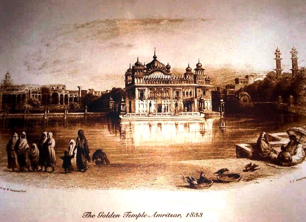 старое фото золотого храма