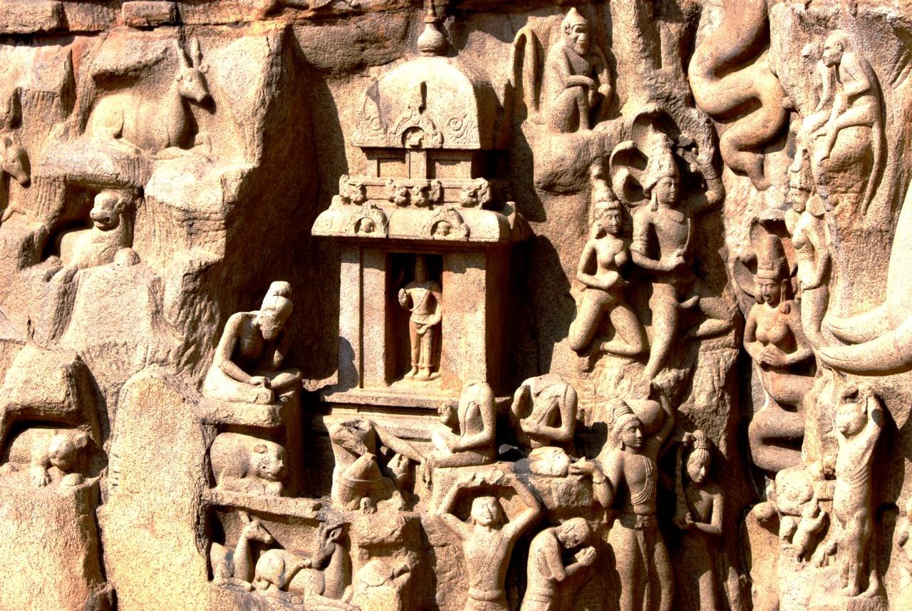 скульптуры мамаллапурама