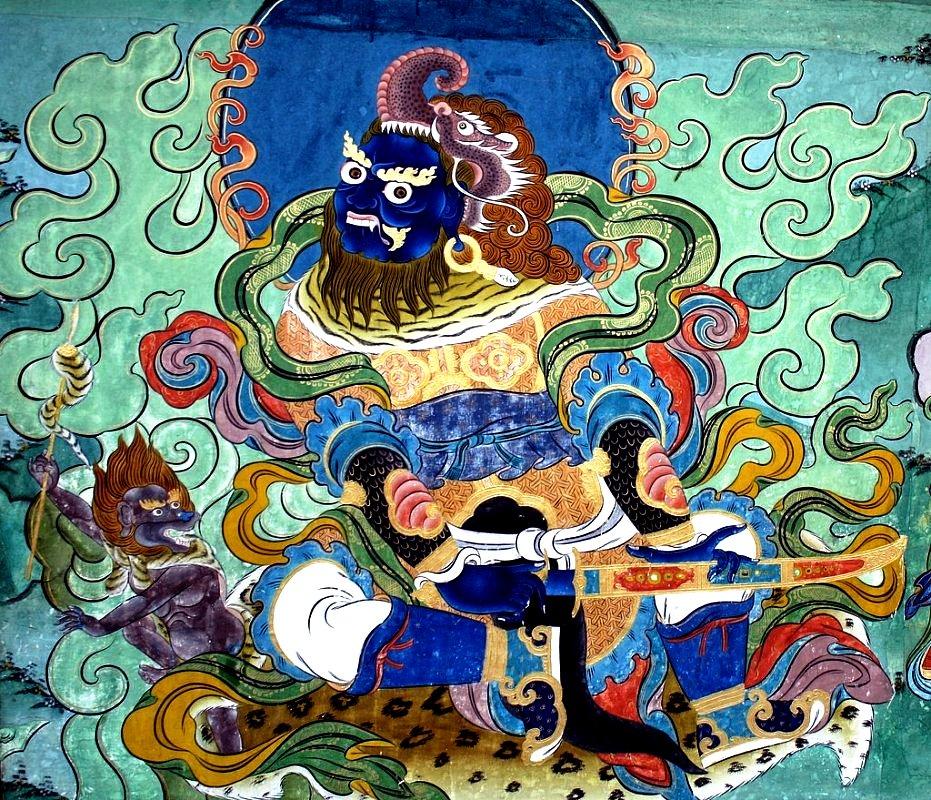 картины пунакха-дзонг