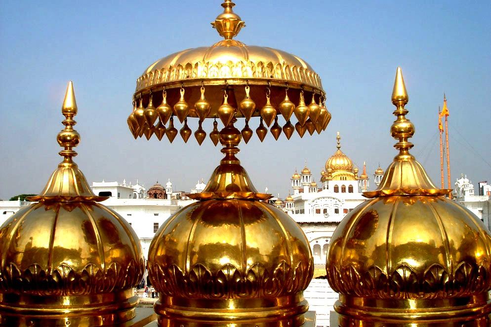 украшения золотого храма