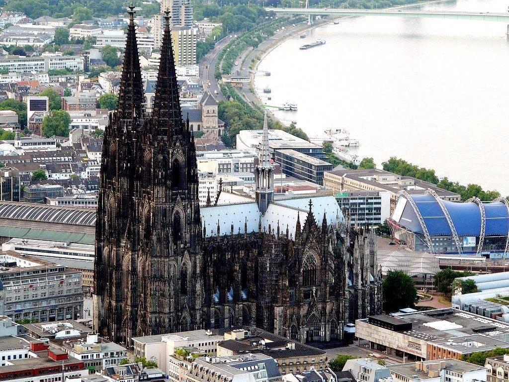 панорама кельнского собора