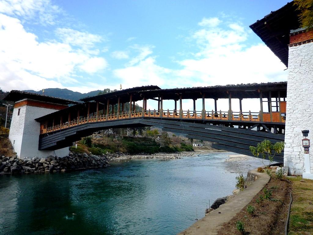 мостик пунакха дзонг