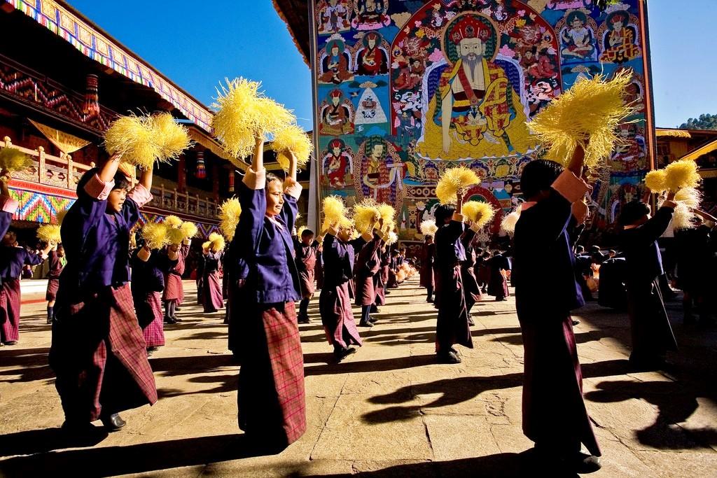 фестиваль пунакха дзонг