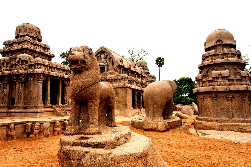 пять храмов мамаллапурама