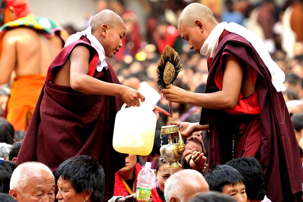 обряды в пунакха дзонге