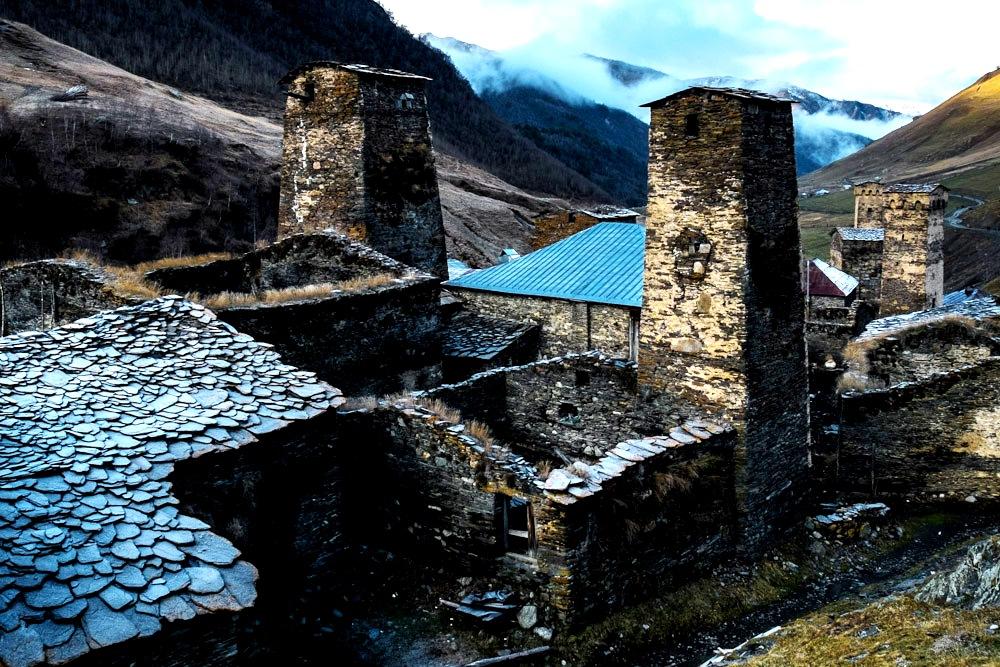 древние башни сванетии