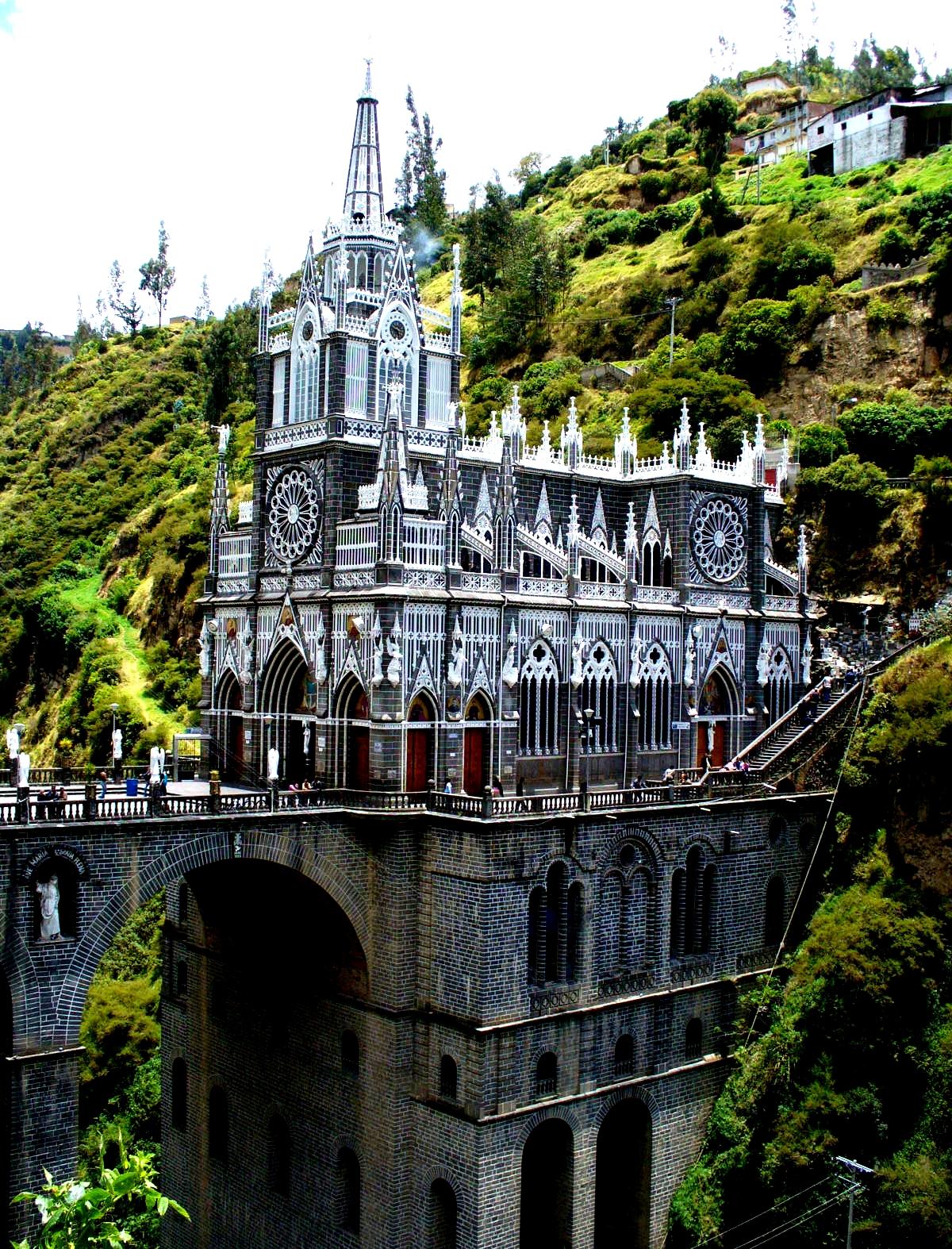 храм чудотворного образа в колумбии