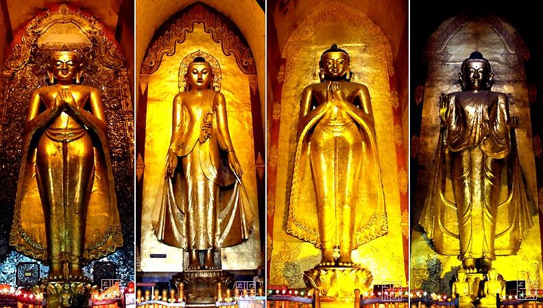 статуи ананды