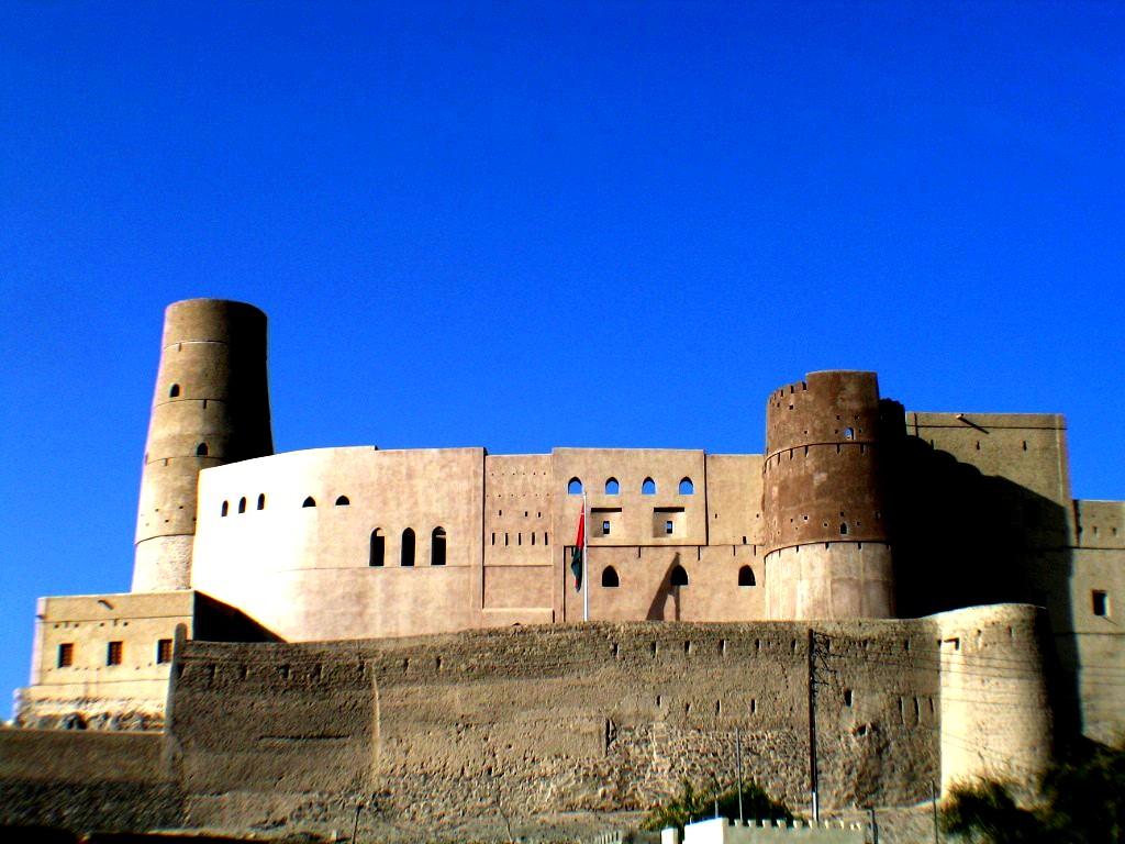 укрепления форта бахла