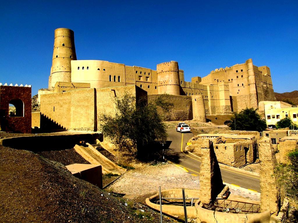 панорама форта Бахла