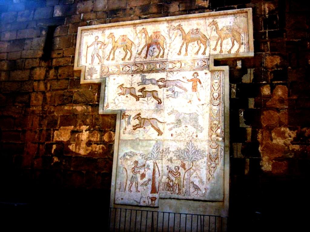 фрески босры