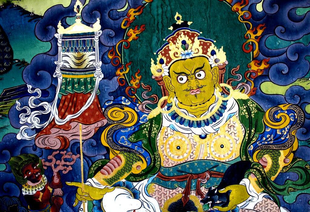 живопись пунакха дзонга