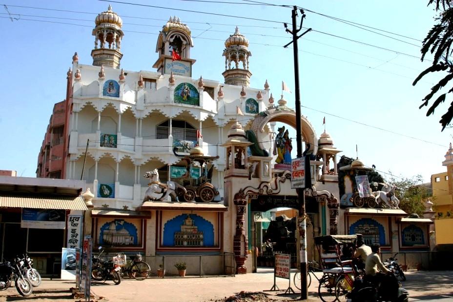 индуистский храм вриндавана