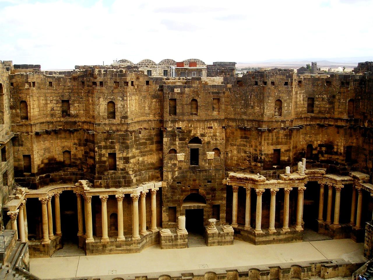 римский театр в босре