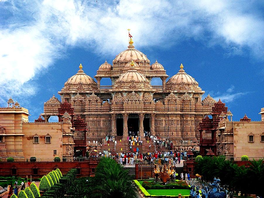 крупнейший индуистский храм
