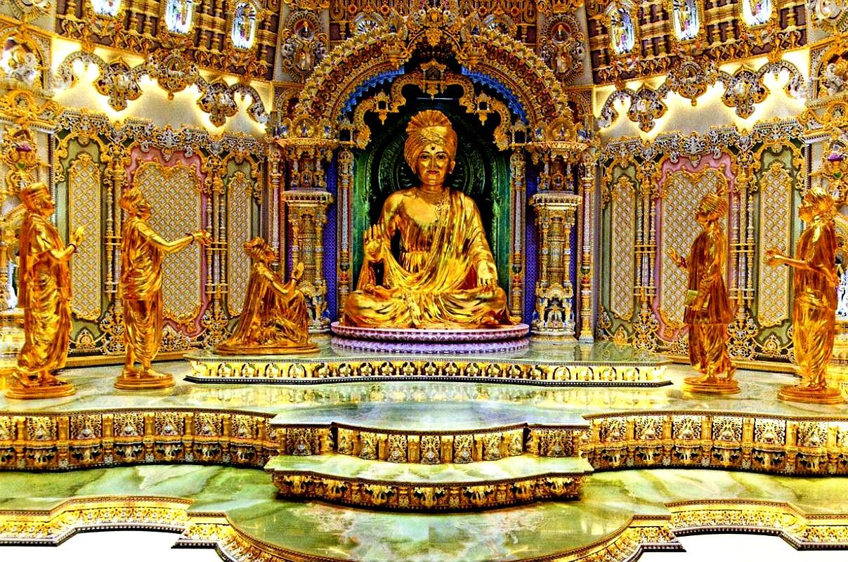статуя сваминараяна