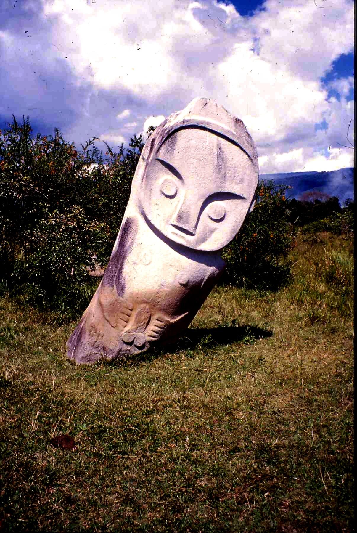 скульптура божества долины бада