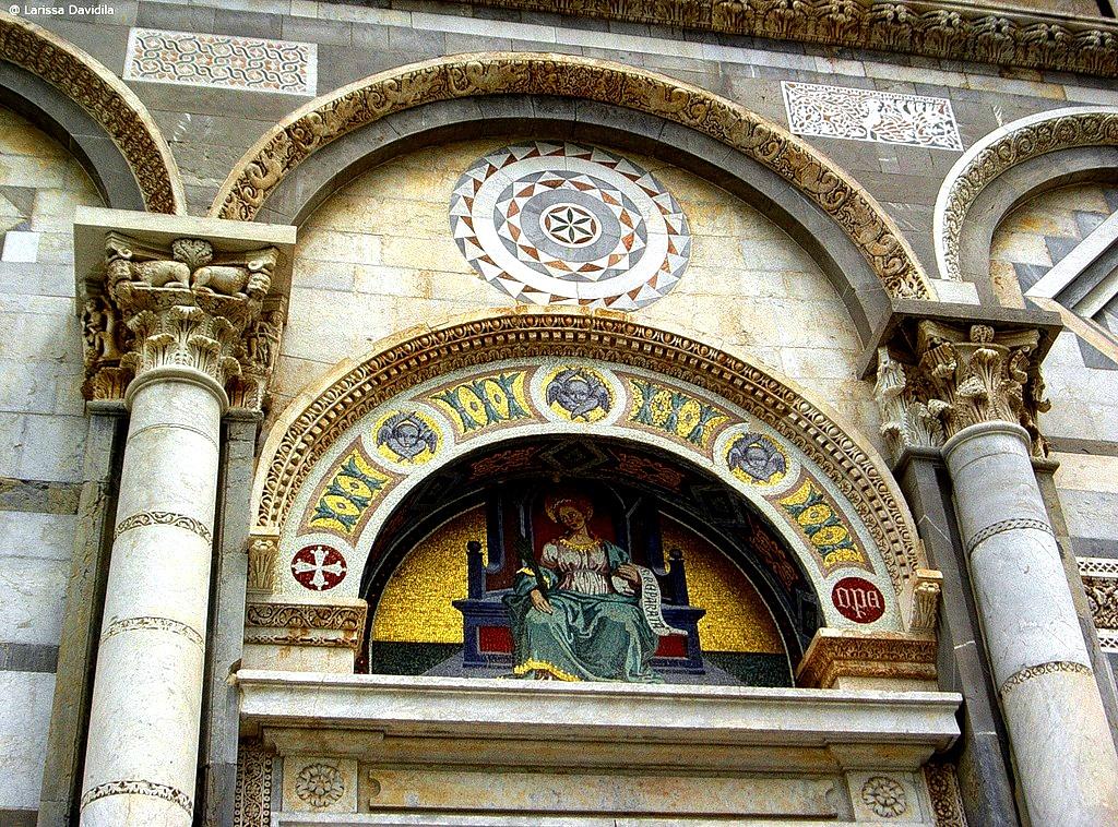 фрески пизанского собора
