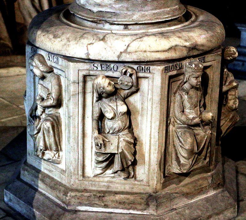статуи в соборе пизы