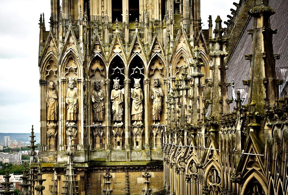 статуи реймсского собора