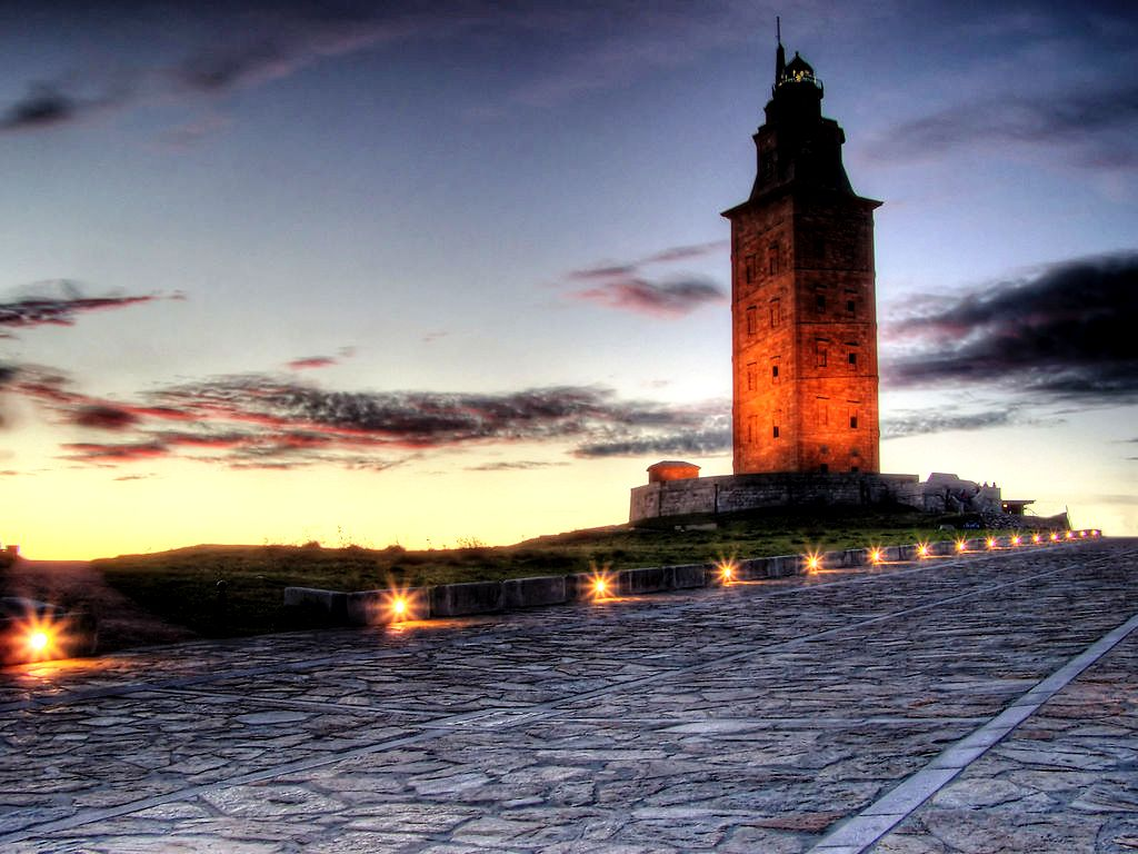 удивительная башня геркулеса