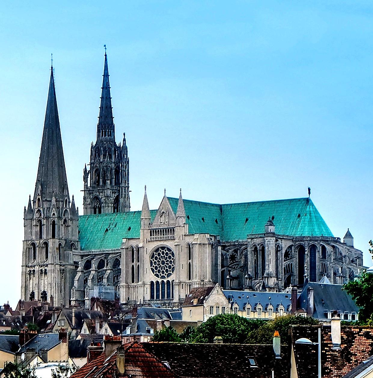 панорама амьенского собора