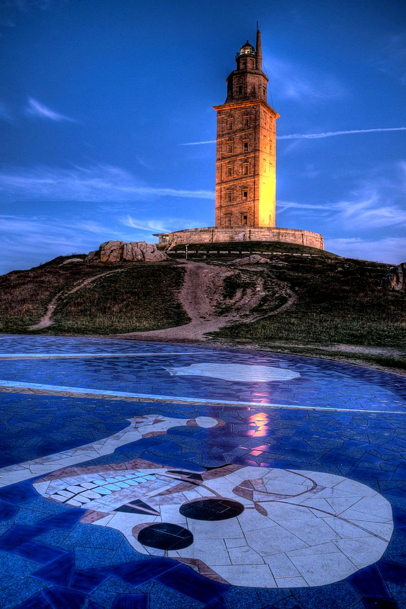 обзор башни геркулеса
