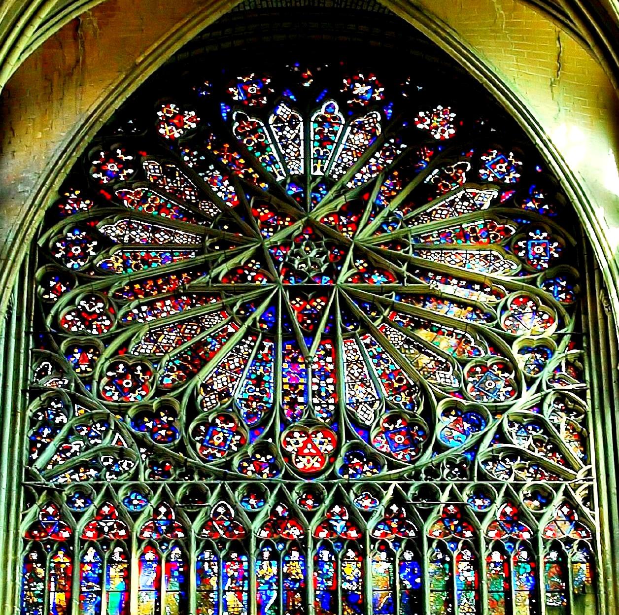 роза амьенского собора
