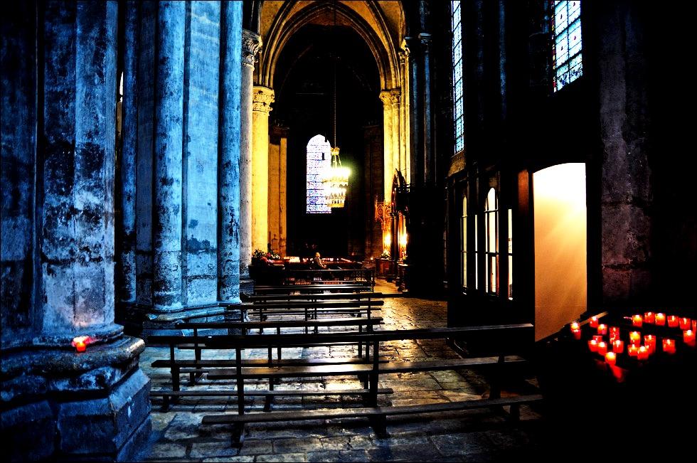 помещения шартрского собора