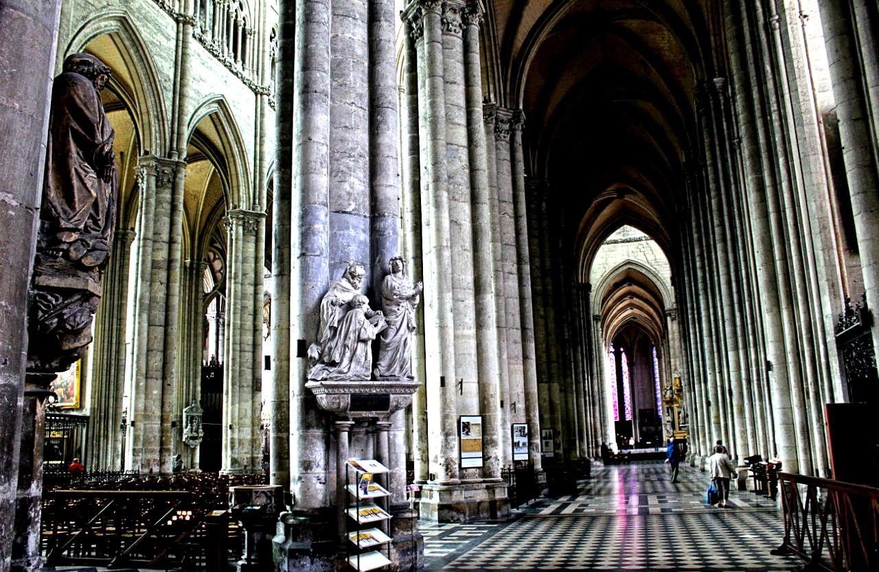интерьеры амьенского собора