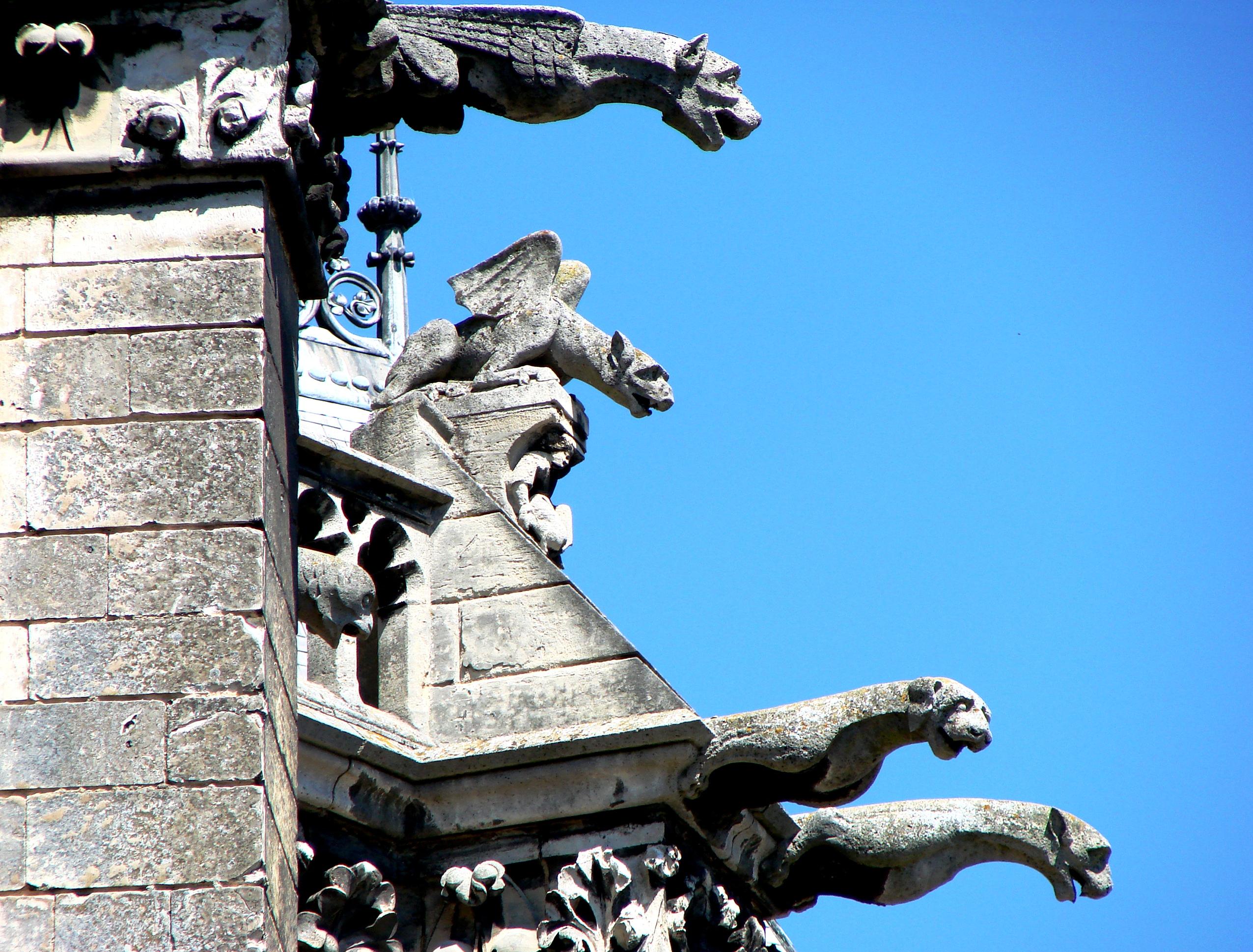 химеры амьенского собора