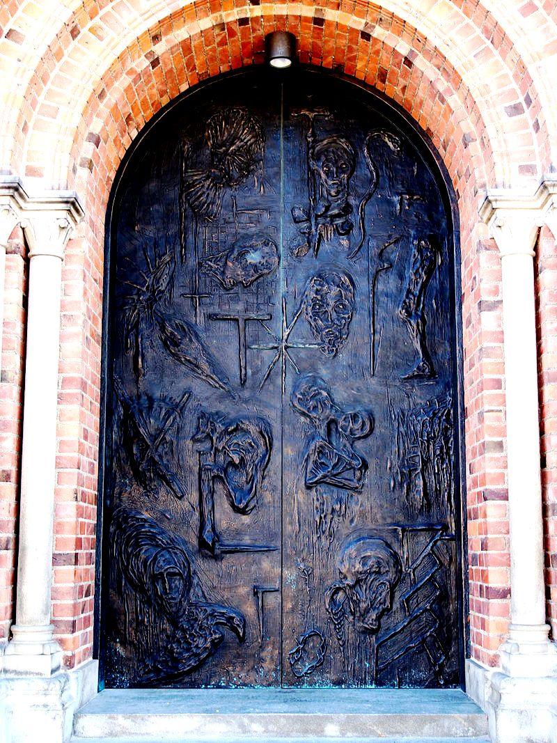 портал собора в роскилле