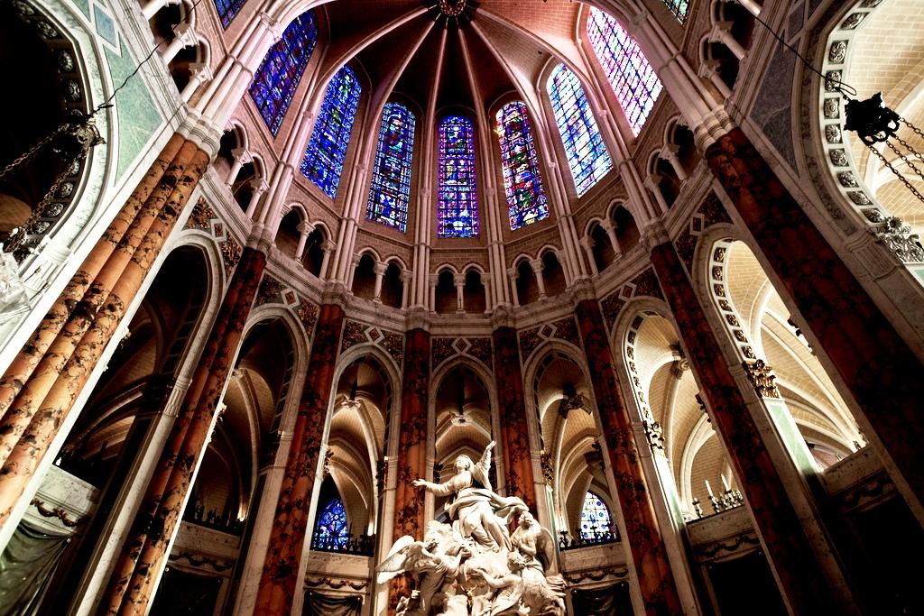 внутри шартрского собора