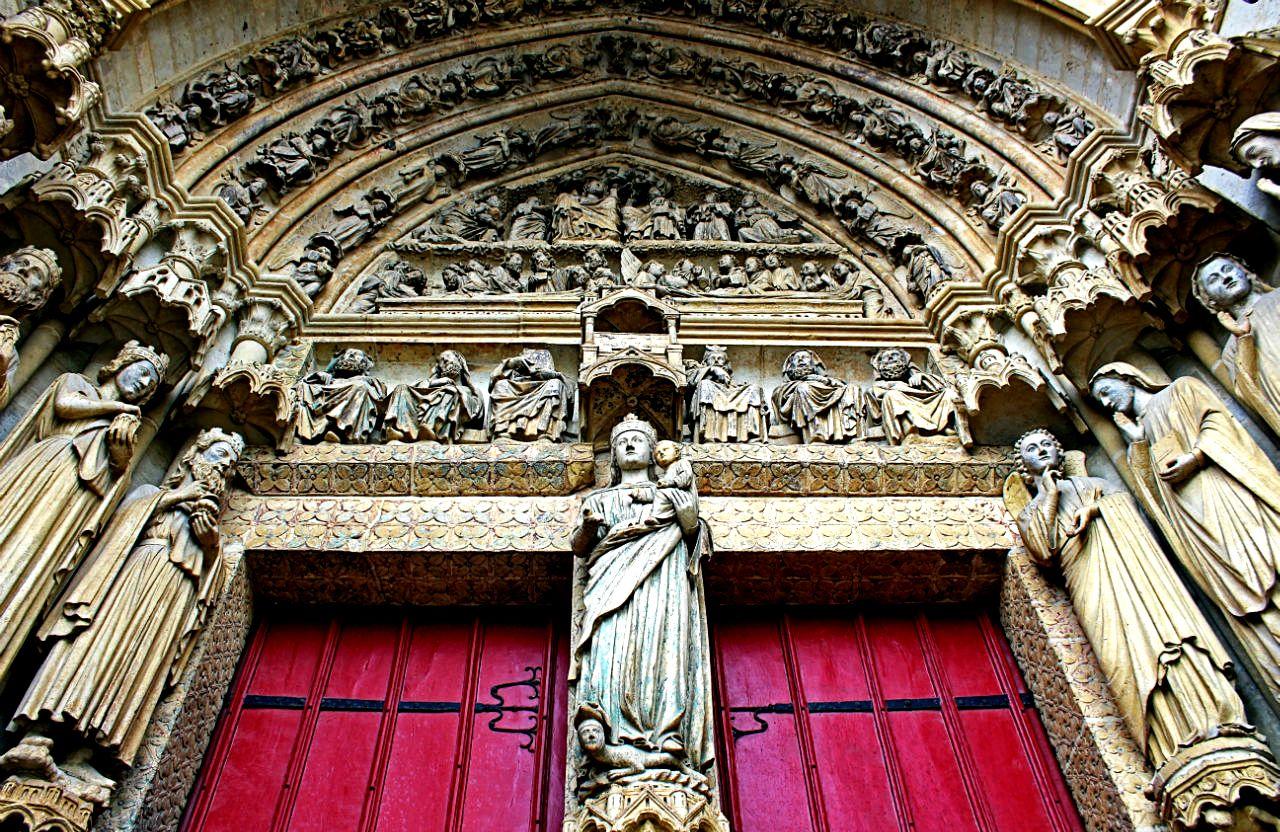 скульптуры амьенского собора