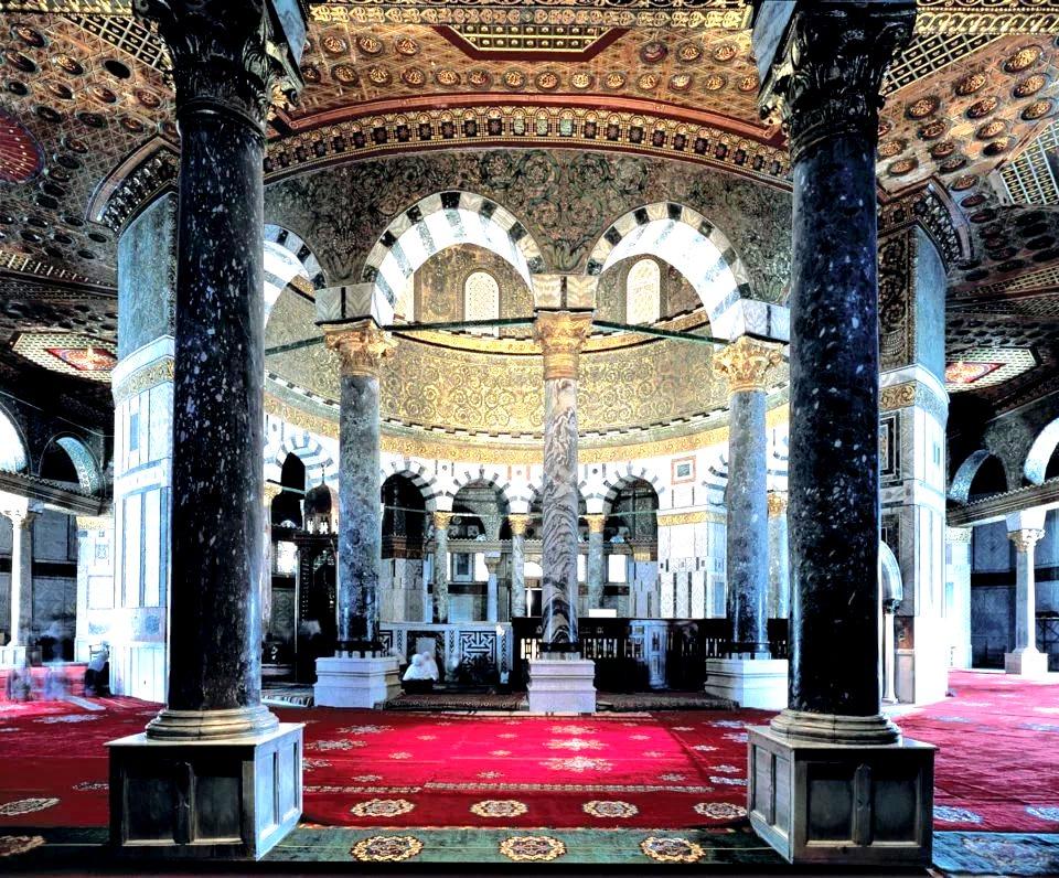 оформление мечети купол скалы