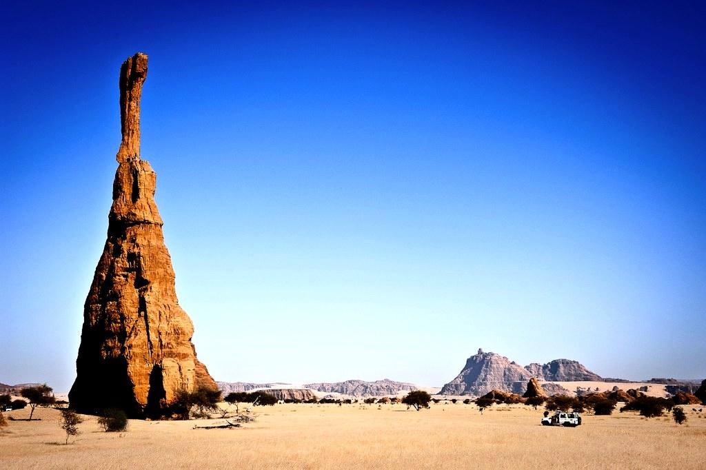 башни плато эннеди