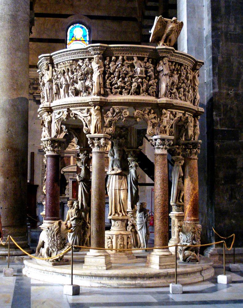 кафедра собора в пизе