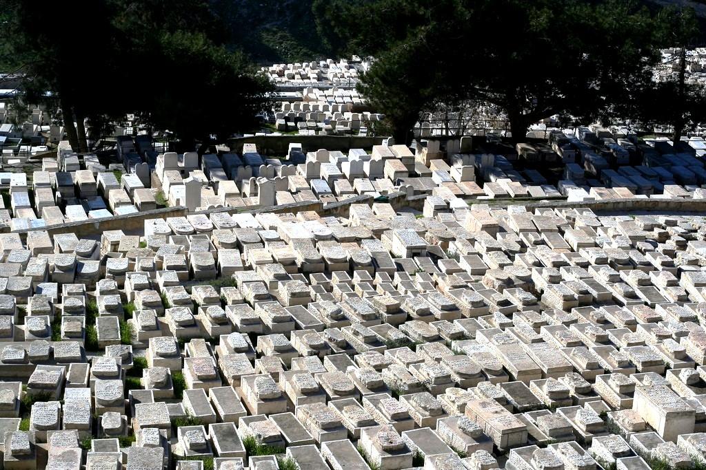 кладбище елеонской горы