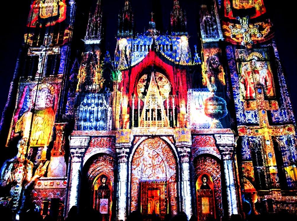 цвета Руанского собора