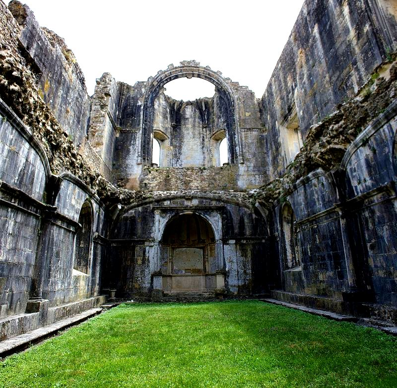руины крепости тамплиеров