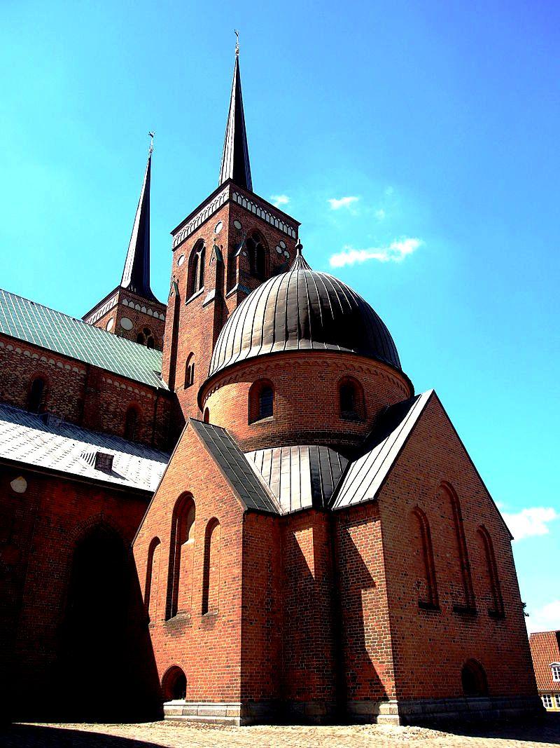 купола собора в роскилле
