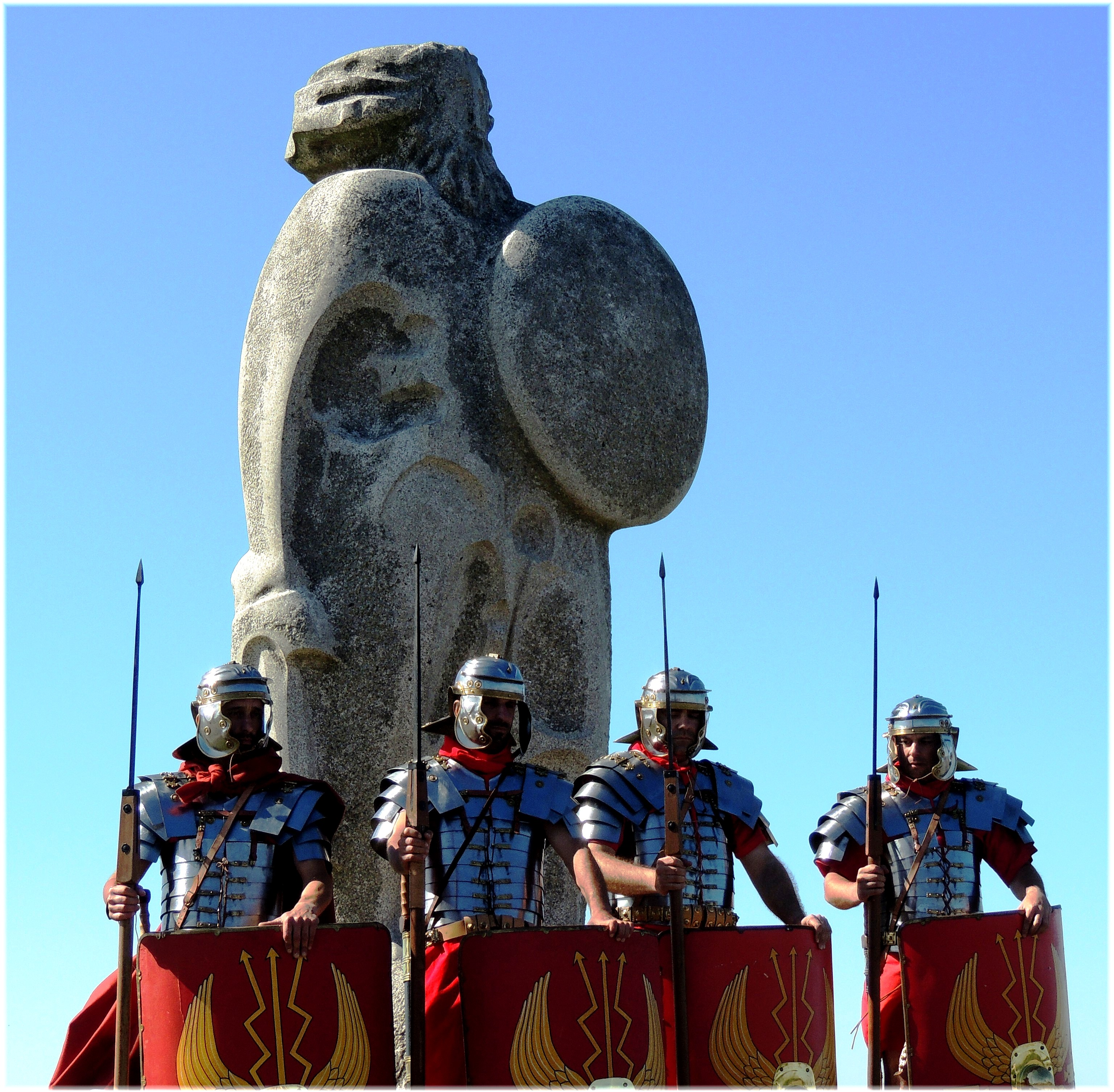 легионеры у башни геркулеса