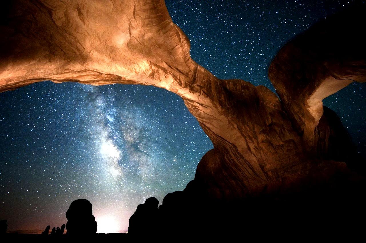 ночное небо юты