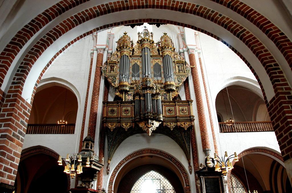детали роскильского собора
