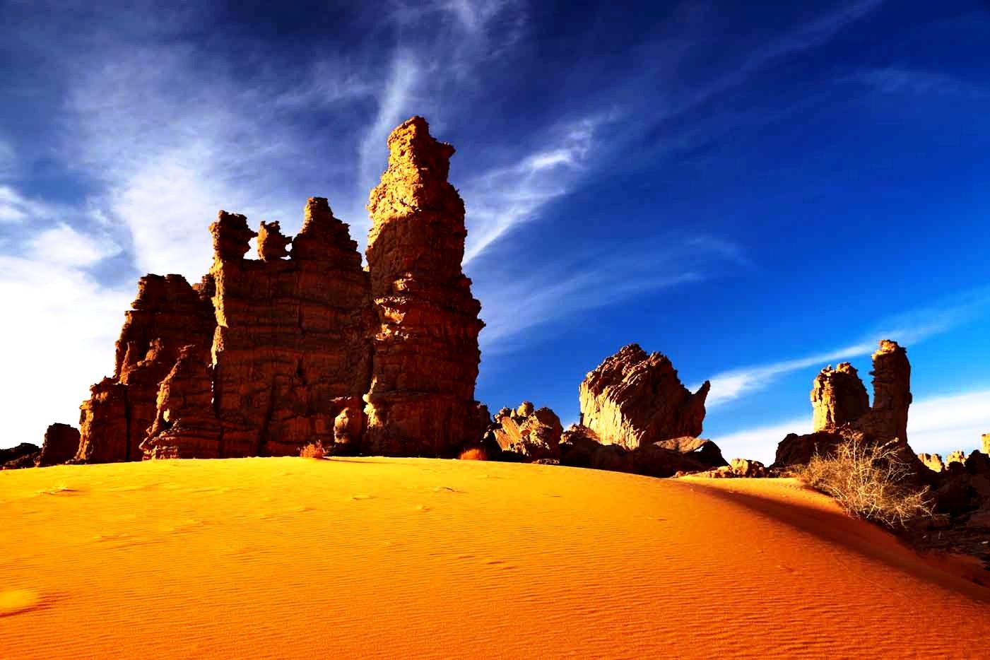 марсианский пейзаж тассилин аджер